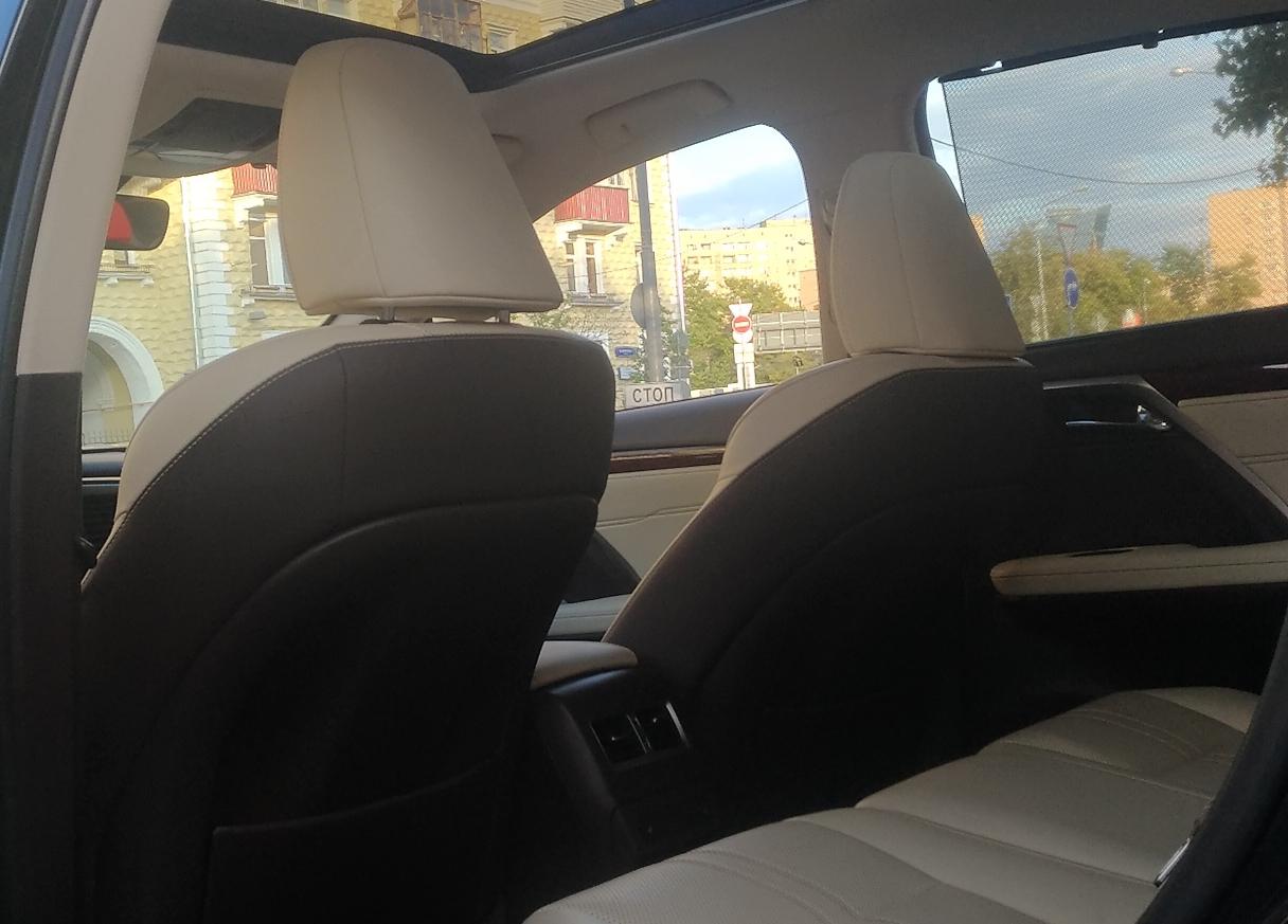 Lexus RX внедорожник 2017