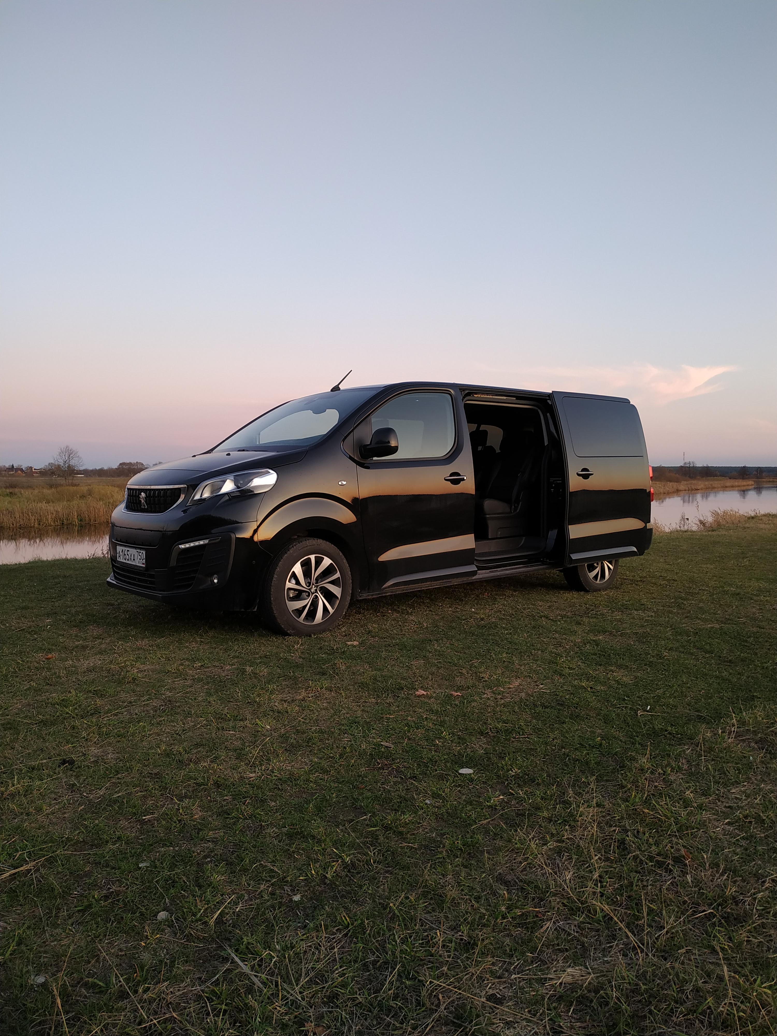 Peugeot Traveller минивэн 2019