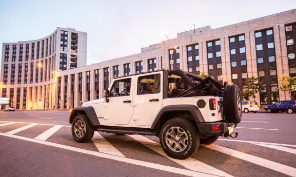 Jeep Wrangler кабриолет 2012