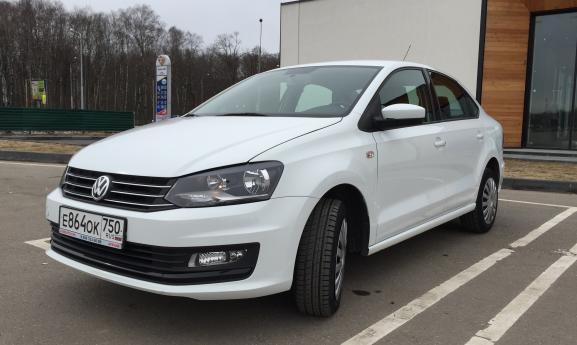Volkswagen Polo седан 2015